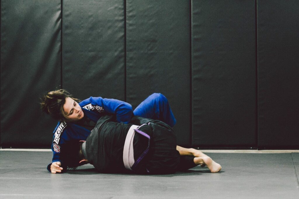 Grappling is an intense physical activity that burns lots of calories.