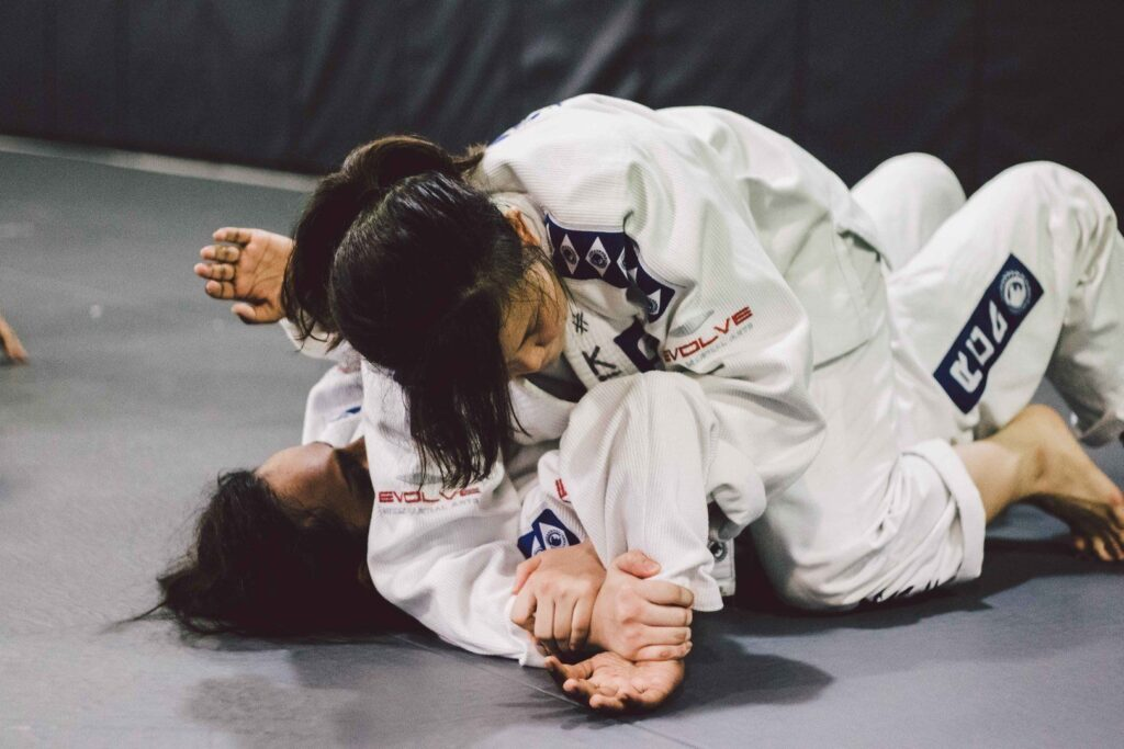 The Americana is one of the many techniques you'll learn in BJJ.