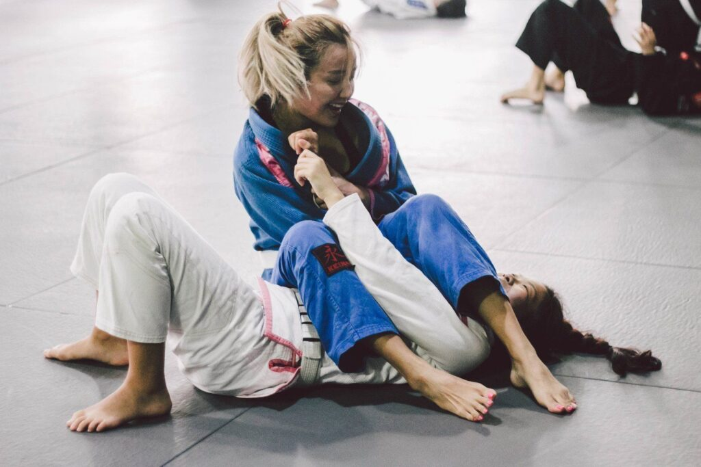 When you train BJJ, your body releases endorphins - so you'd be in a better mood after training!