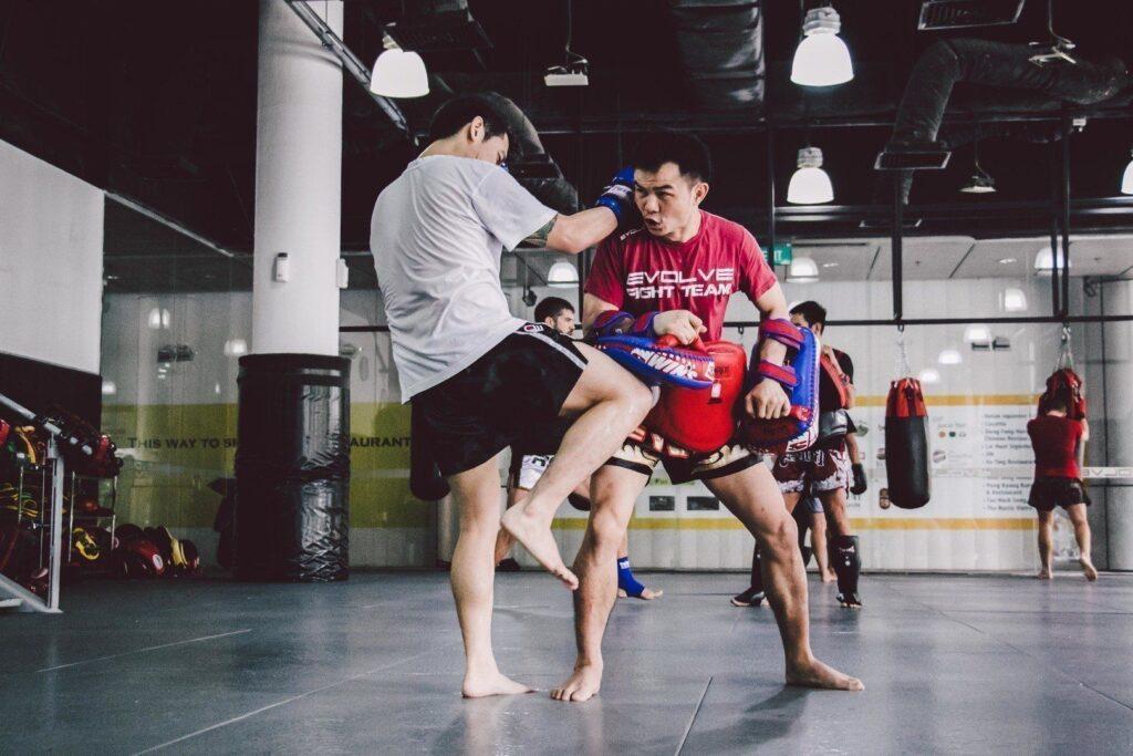 Multiple-time WBC World Champion Pongsaklek Wonjongkam teaches at Evolve MMA.