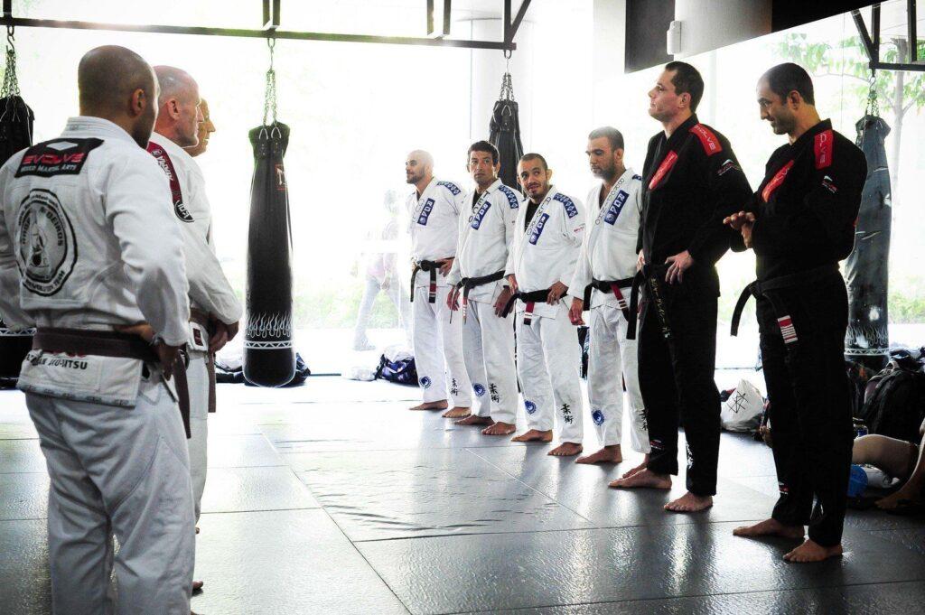 It takes an average of 10 years to receive a black belt in Brazilian Jiu-Jitsu.