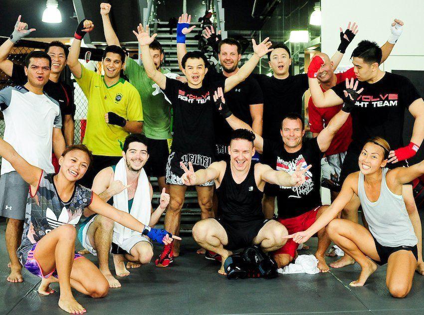 Evolve MMA - Muay Thai Students