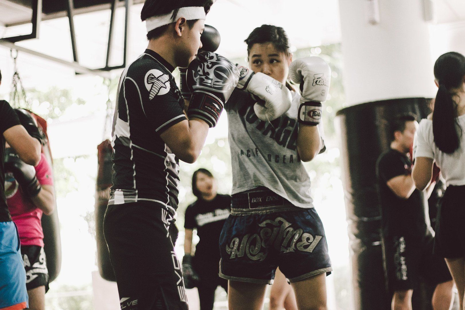 The elbow strike is usually thrown in close range.