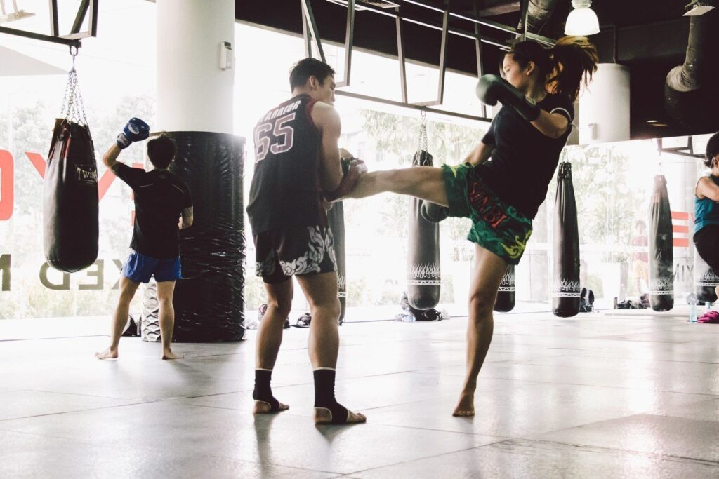 Training Muay Thai is a great way to boost your stamina.