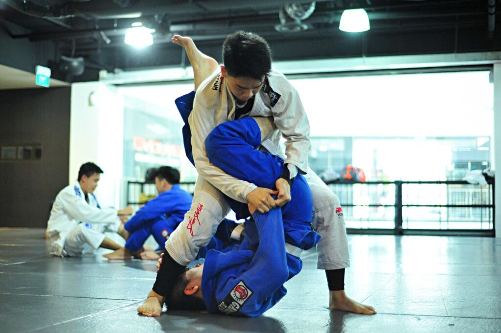 Sparring is a great way to assess your technical knowledge.