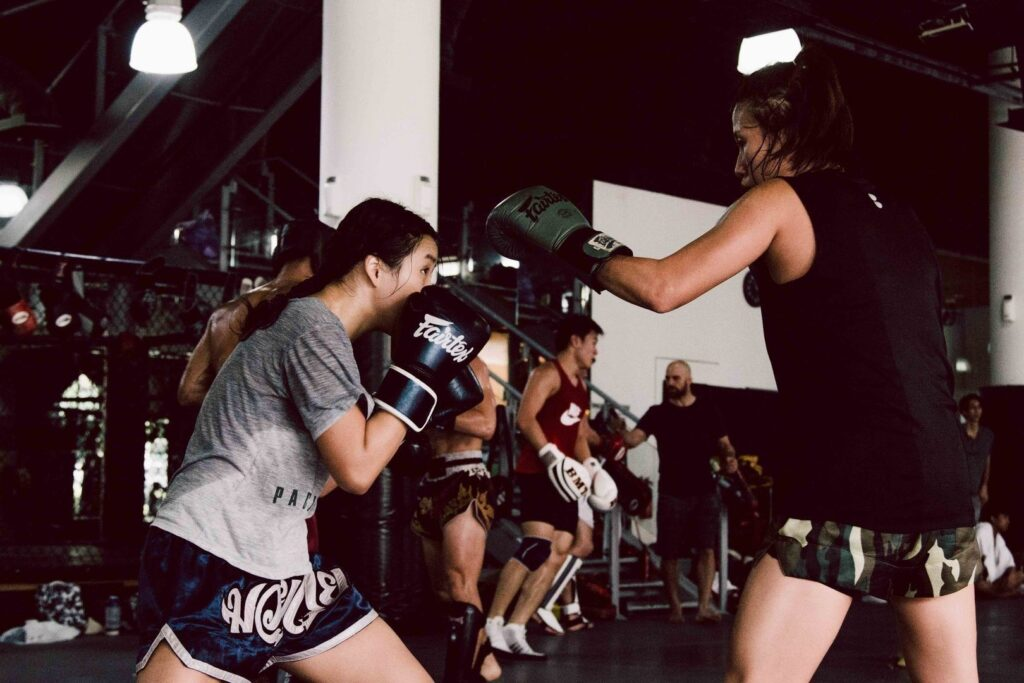 Sparring is a great way to elevate your game.
