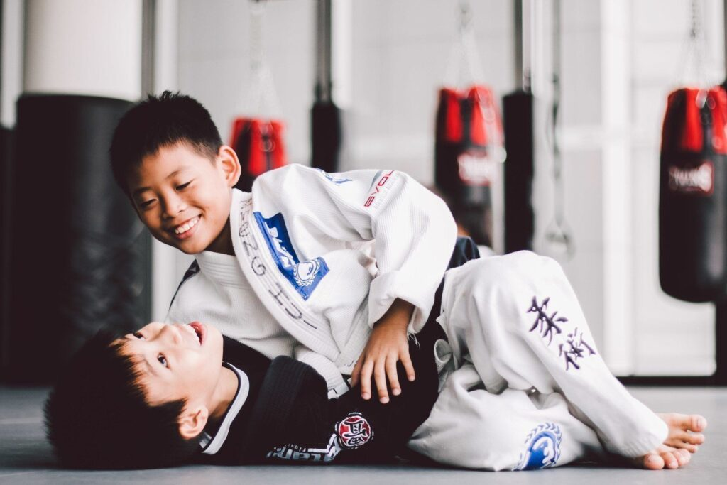 Brazilian Jiu-Jitsu is a great way to bullyproof your kids.