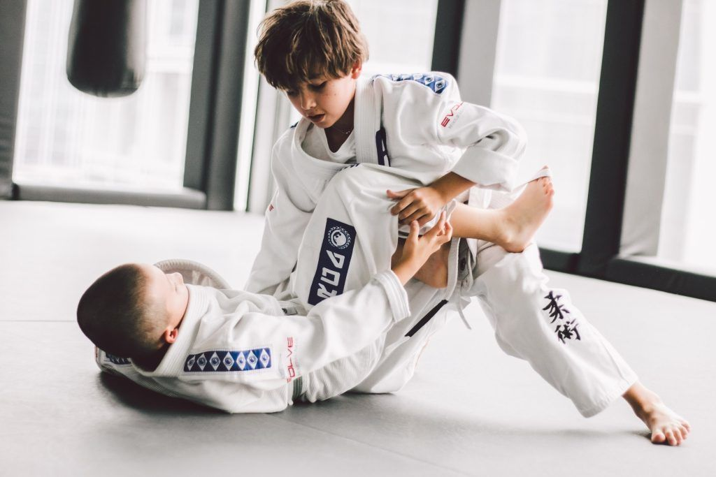 Martial arts is a great way to keep your kids active.