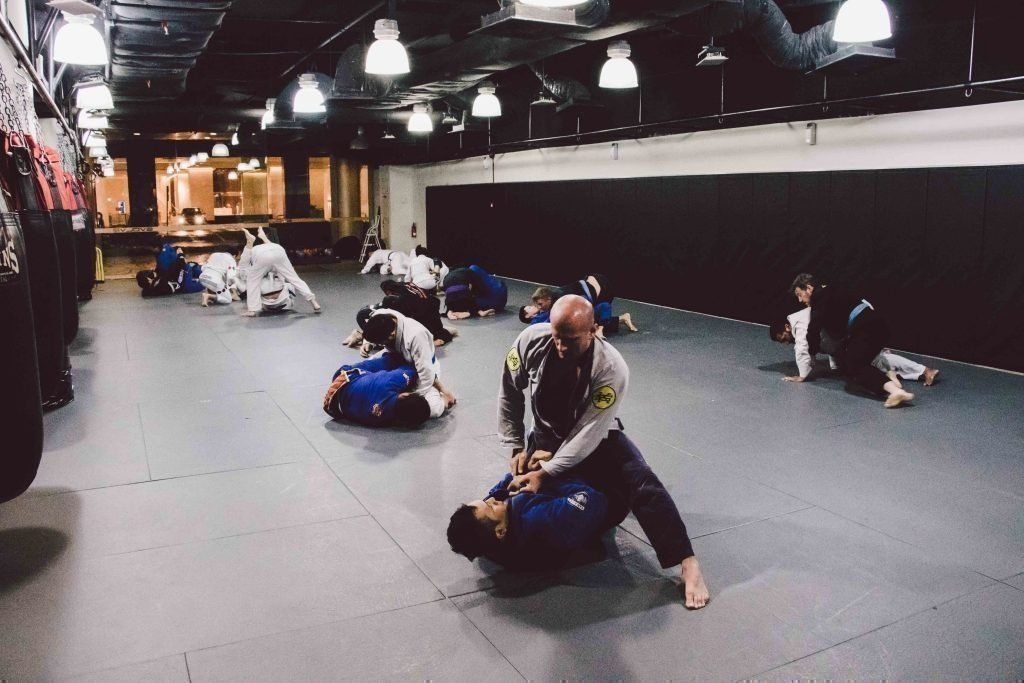 With so many techniques to learn, there's never a dull moment in BJJ class.