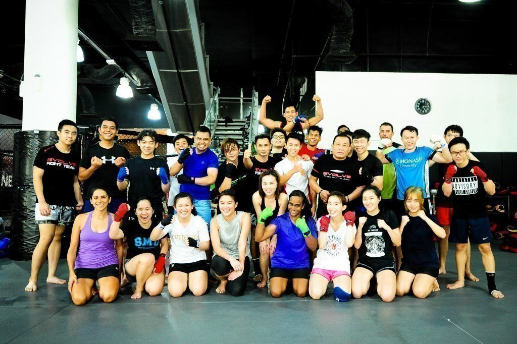 Just another awesome Muay Thai lesson at Evolve MMA!