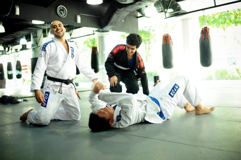 BJJ is a fun way to keep active and get in shape.