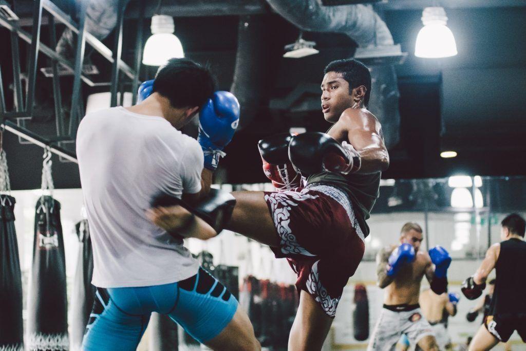 ONE Superstar Amir Khan trains hard at the Evolve Fighters Program.