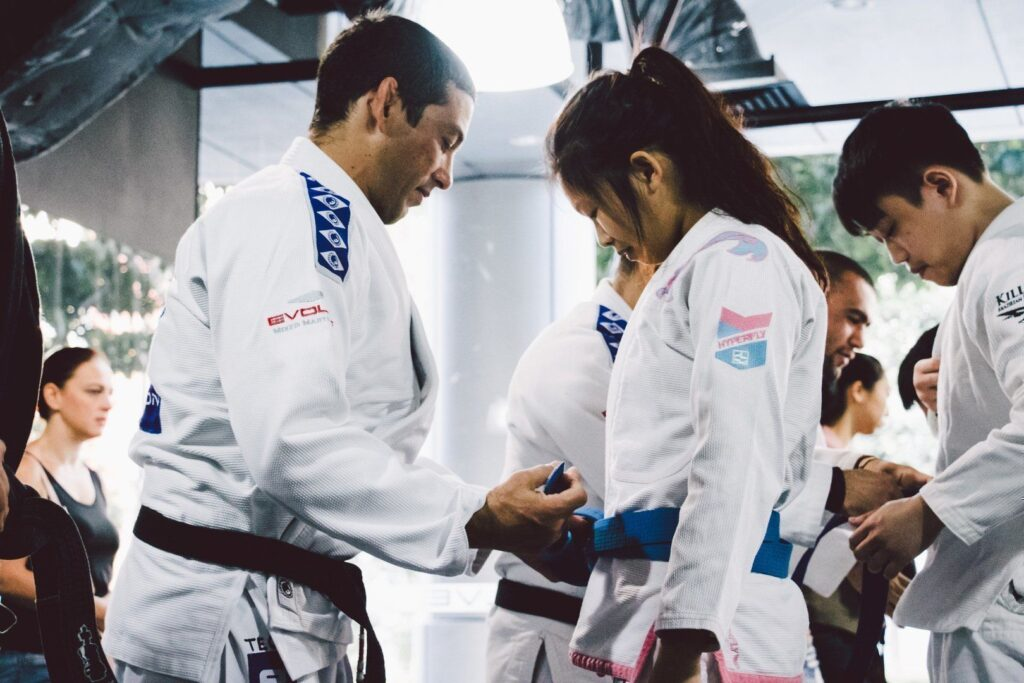 Every promotion brings you one step closer to receiving your black belt.