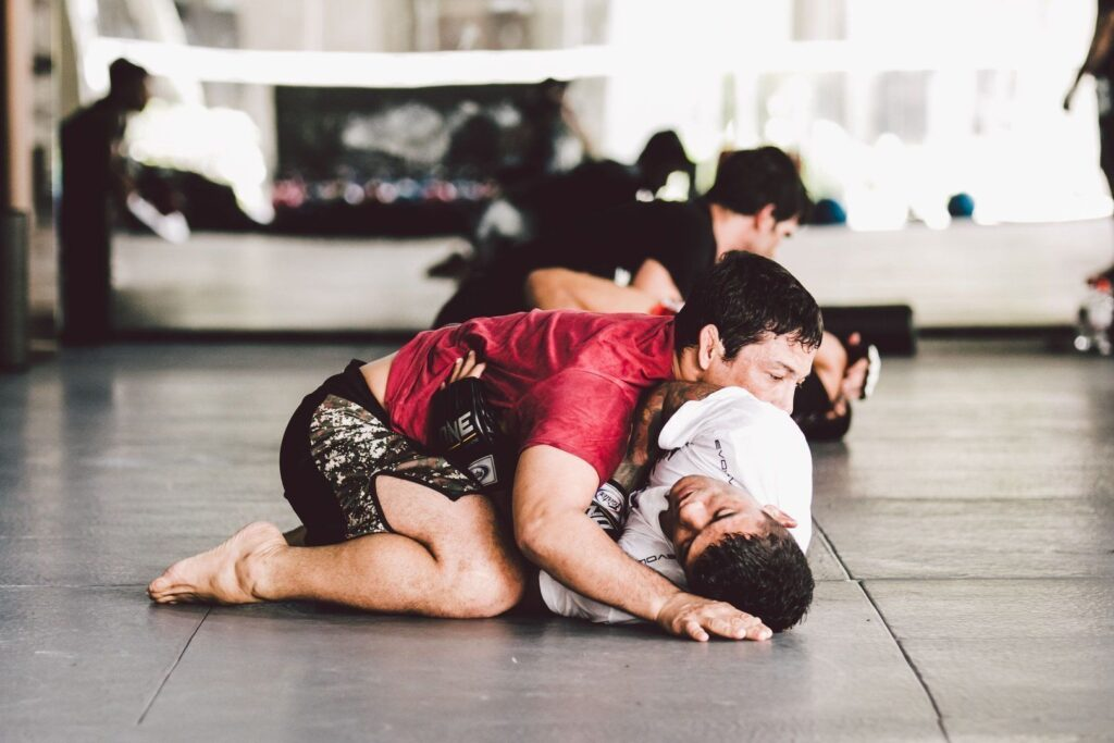 Side control is a dominant position that gives you many options for submissions.