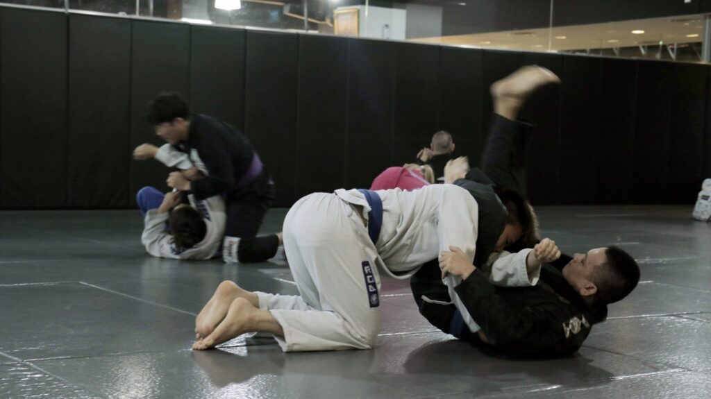 BJJ is a fun way to keep active.