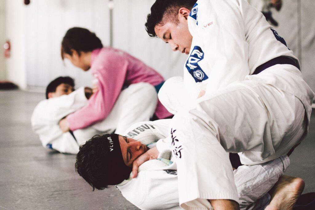 Brazilian Jiu-Jitsu enables a smaller person to overcome stronger, bigger opponents.