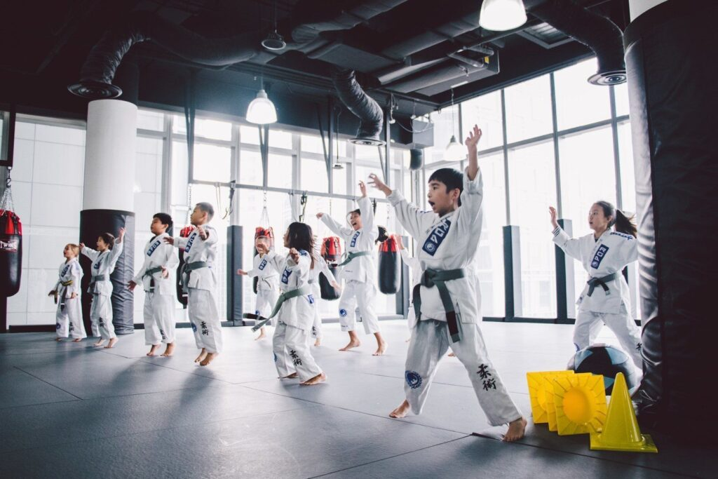 BJJ is a fun way to keep your kids active.