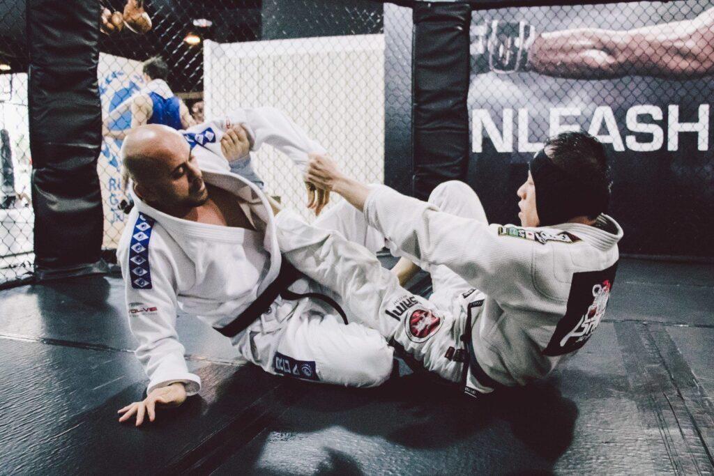 """BJJ National Champion Thiago """"Guli"""" Kozama teaches BJJ at Evolve MMA."""