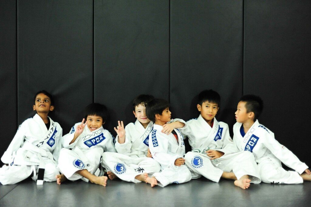 Bullyproof your kids by letting them train BJJ.