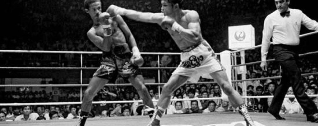 Boxing legend Khaosai Galaxy is listed #19 on Ring Magazine's list of 100 greatest punchers of all time.