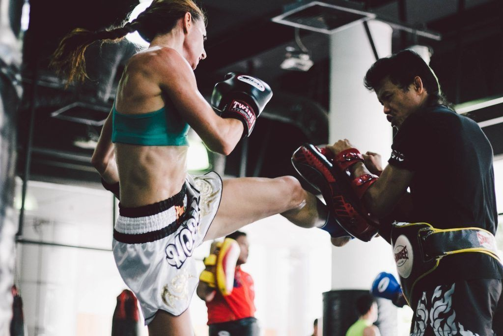 Muay Thai utilizes a beautiful symphony of kicks, punches, knees, and elbows with fluidity and grace.