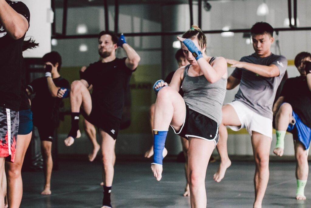 You can burn up to 1,000 calories in a 60-minute Muay Thai class.