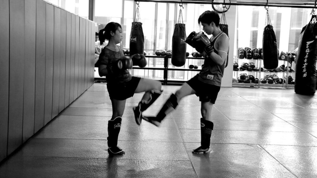 Sparring is a great way to deepen your understanding of the techniques you learned in class.
