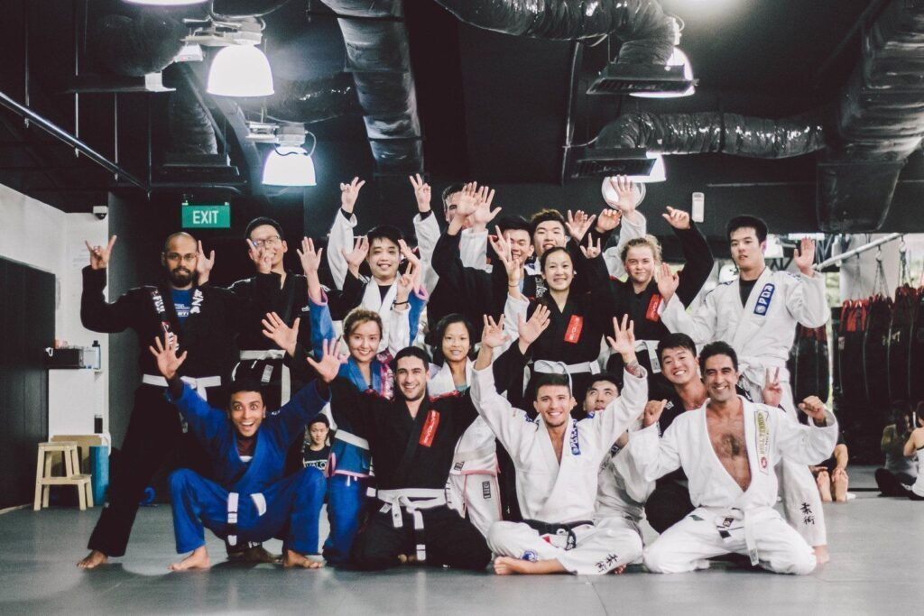 Just another awesome BJJ class at Evolve MMA!