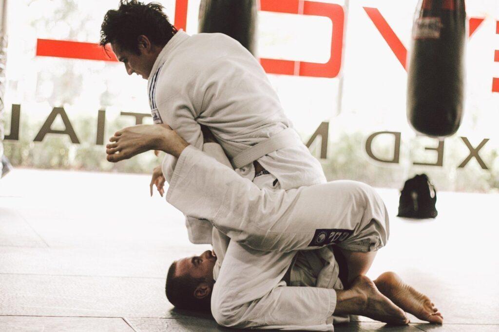 A black belt is a white belt that never quit.