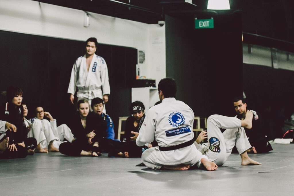 There's never a dull moment on the BJJ mats as there are so many techniques to learn.
