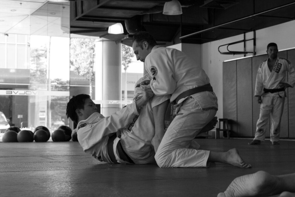 BJJ enables you to overcome bigger, stronger opponents.