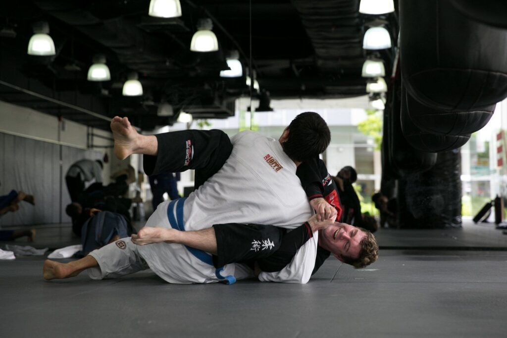 Brazilian Jiu-Jitsu is a fun way to keep active.