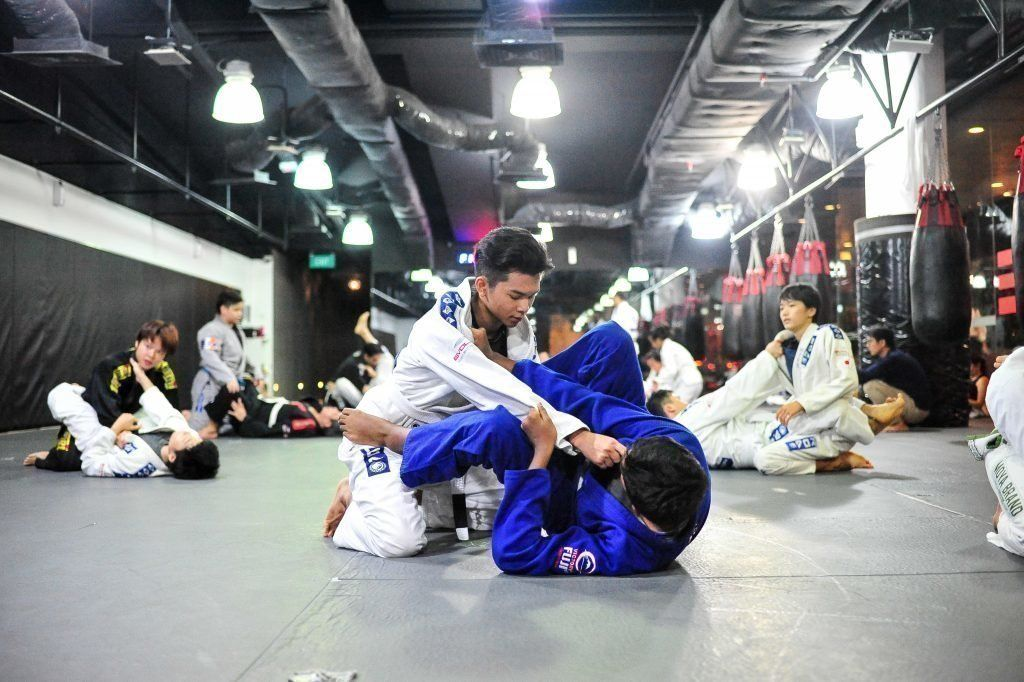 BJJ enables a small person to overcome bigger, stronger opponents.