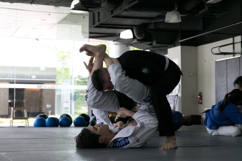 BJJ enables a small person to overcome a bigger, stronger opponent.