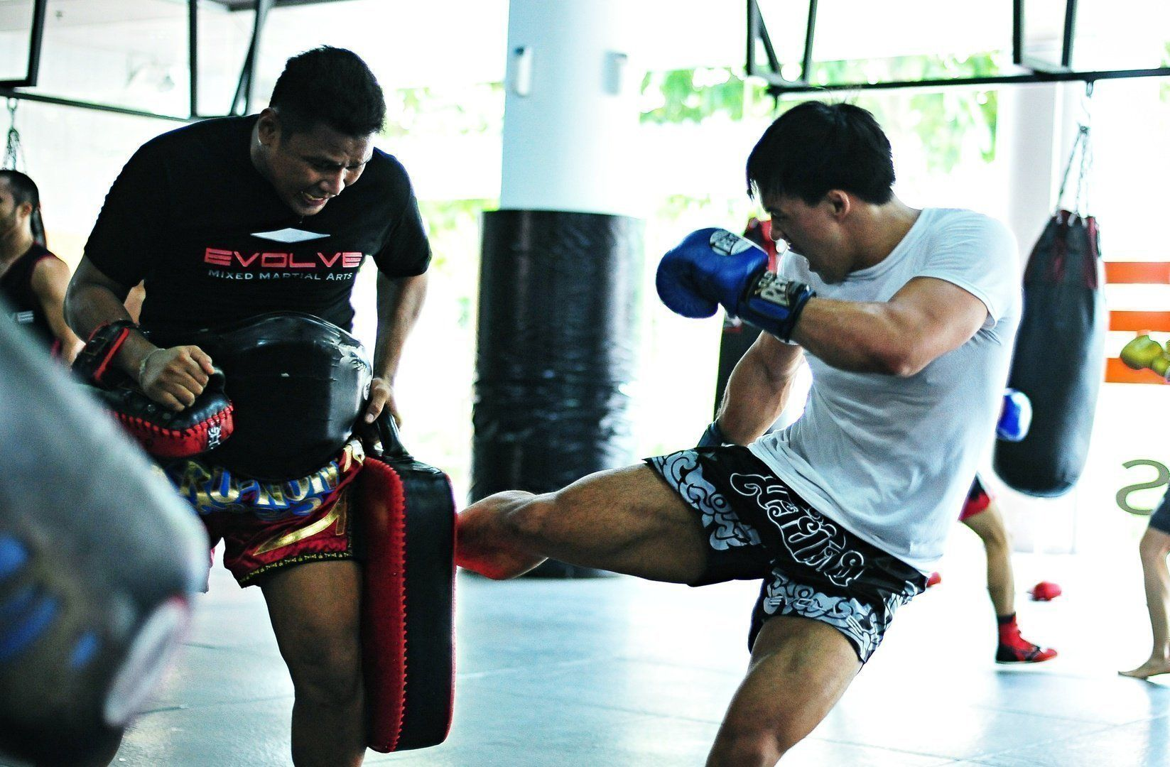 Prior to joining Evolve MMA, ONE Superstar Eddie Ng was completely self-taught in martial arts.