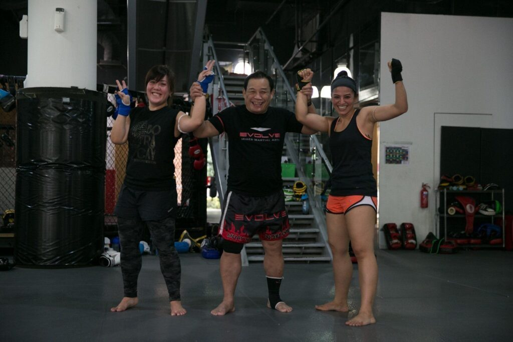 Lasting friendships are forged through martial arts.