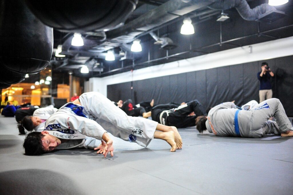 The hip escape is a key component to some of the basic position escapes in Brazilian Jiu-Jitsu.