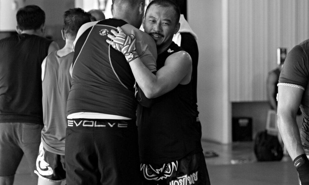 hug_training
