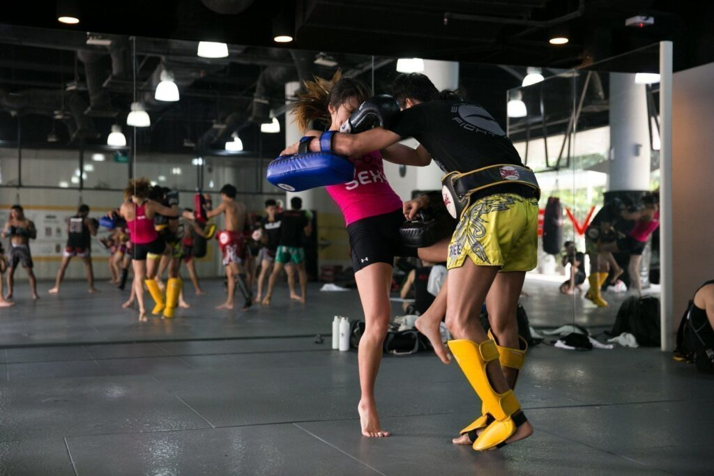 The knee is a fundamental strike in Muay Thai.