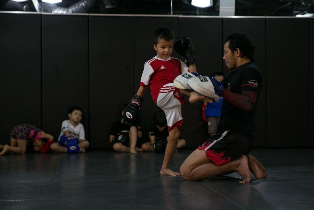 Martial arts is a great way to bullyproof your kids.