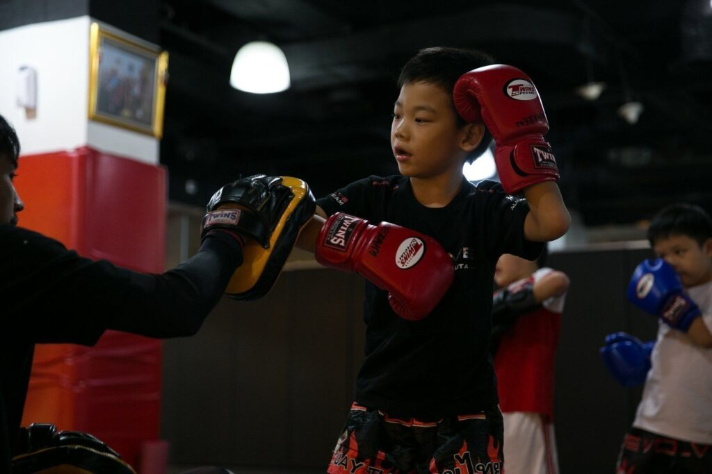 Muay Thai teaches your kids discipline.