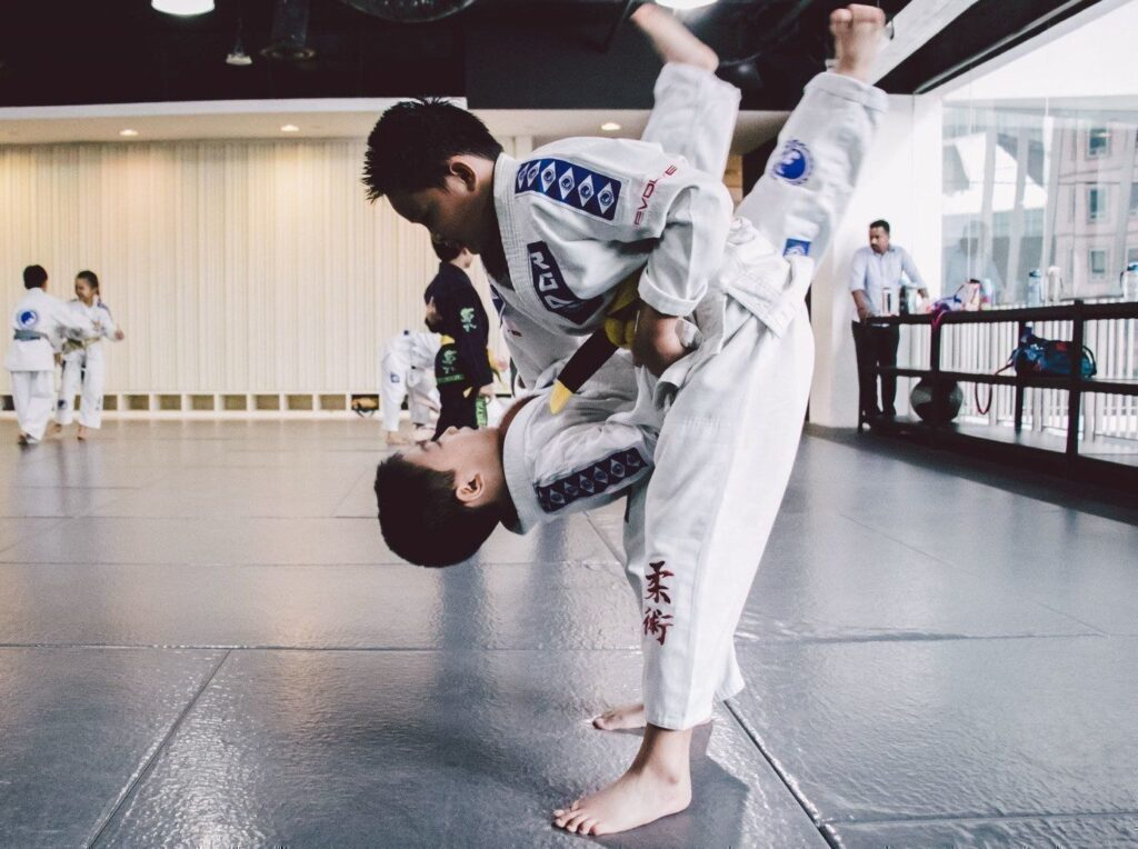 BJJ is an awesome way to keep your little ones bully-proof!