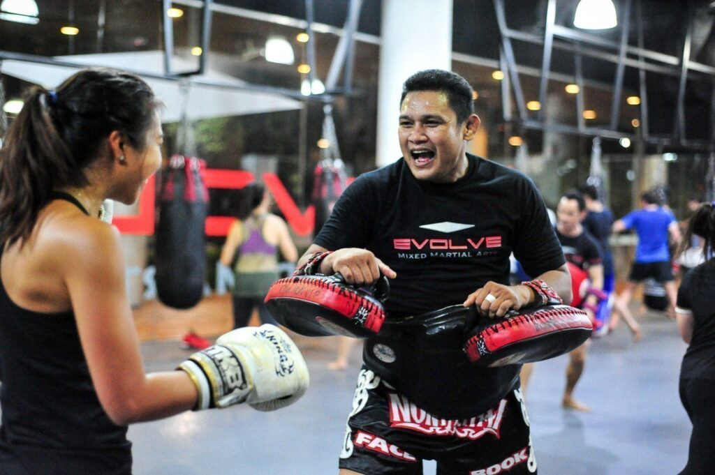 Evolve MMA has the largest collection of World Champions in Asia.