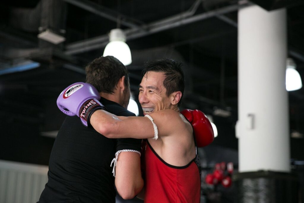 The friends you make in the martial arts gym are friends for life.