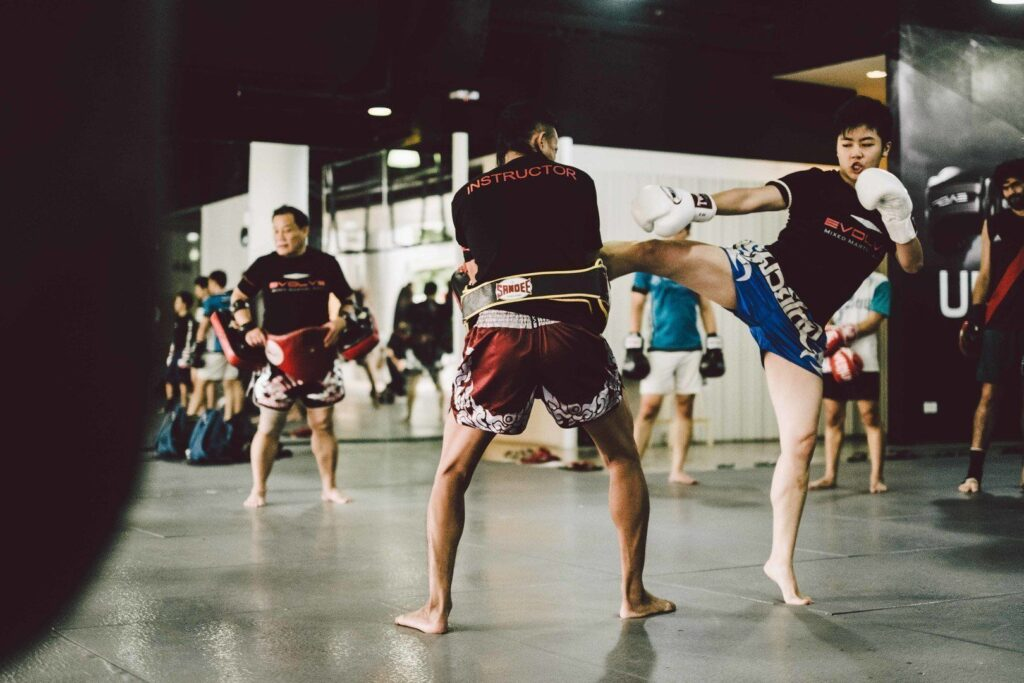 Muay Thai toughens you up both physically and mentally.