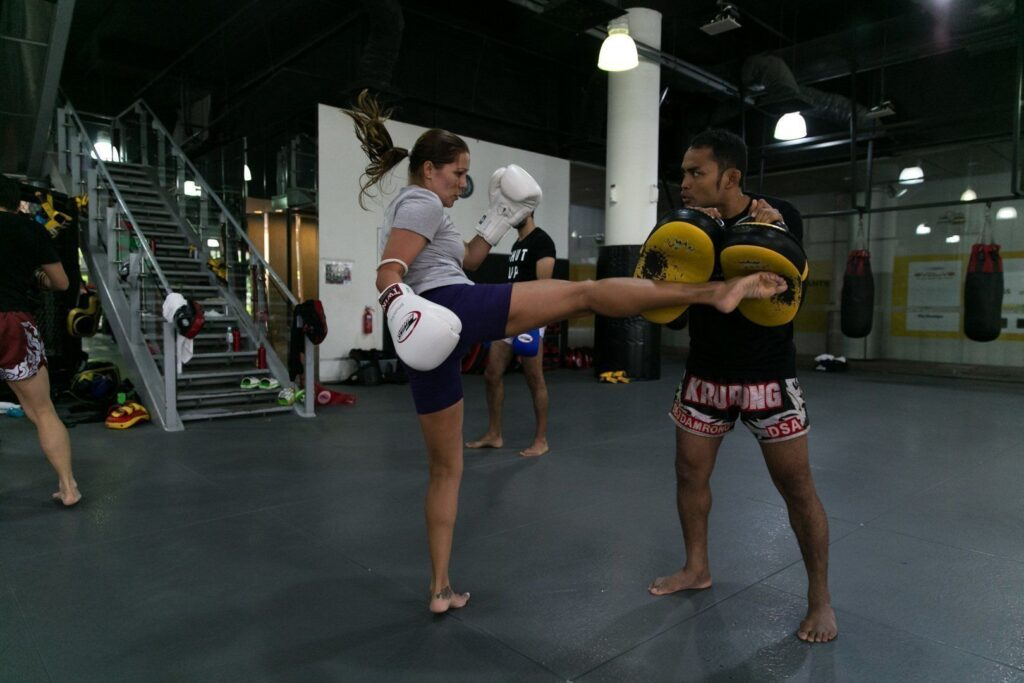 You can burn up to 1,000 calories in a 60 minute Muay Thai class.