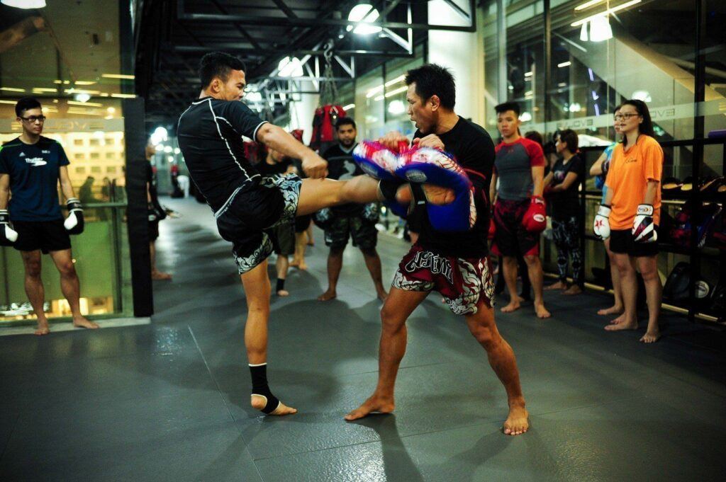Muay Thai is a fun way to stay active.