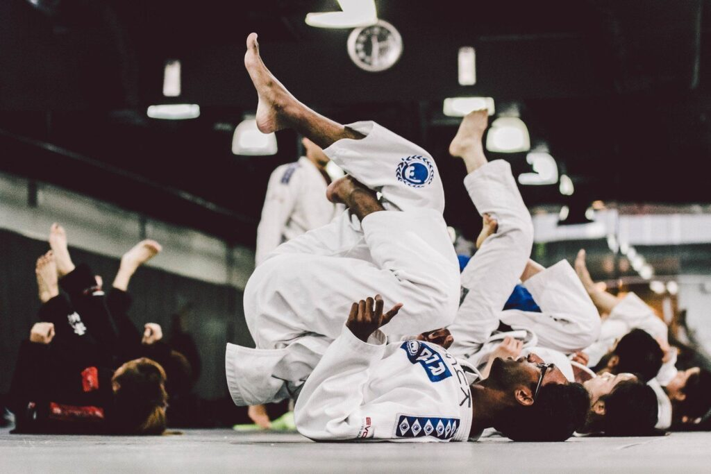 It's important to warm up properly before your BJJ training.