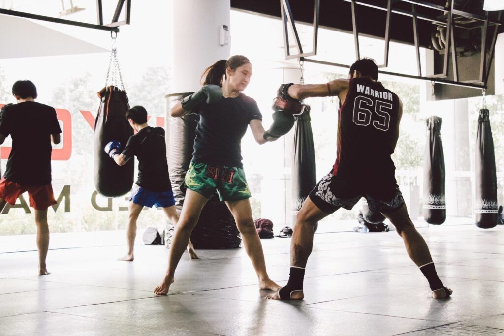 The uppercut is a fundamental strike in Muay Thai.