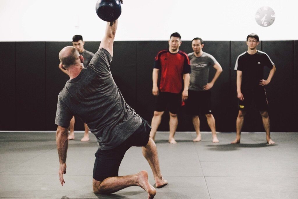 The WarriorFit class at Evolve MMA builds both your strength and endurance.